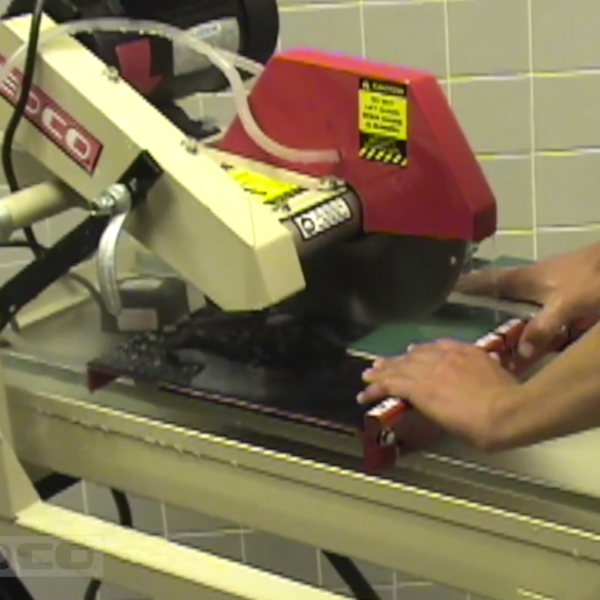 How To Use A 10″ TILE SAW
